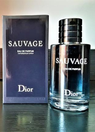 Мужские духи Christian Dior Sauvage Eau de Parfum 100 мл Лицензия