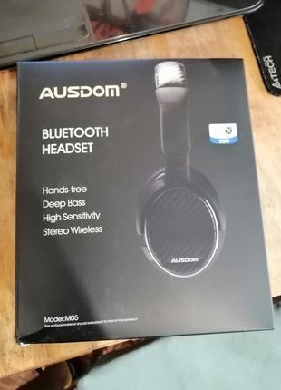 (П) [Опис!] Ausdom M05 40мм Bluetooth 4.0 aptX гарнітура навушник