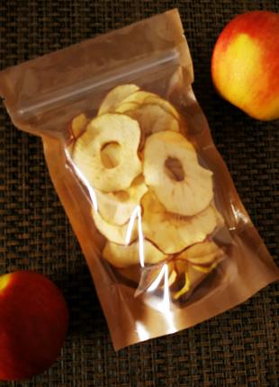 Яблочные чипсы-фрипсы. Очень хрустящие и без сахара! : ) 🎁