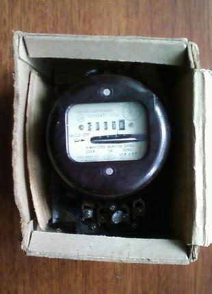 Дисковый электросчётчик  новый