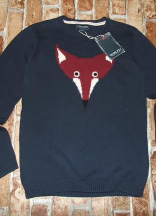 Хлопковая кофта свитер девочке 11 - 12 лет cherokee