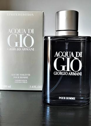 Мужские духи Giorgio Armani Acqua di Gio Limited Edition 100мл