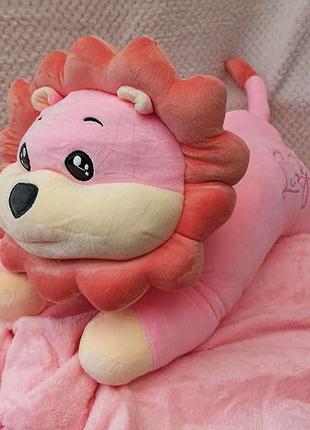 Детский плед трансформер, игрушка плед подушка для детей