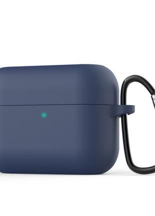 Силиконовый чехол для Honor Earbuds X1 синий