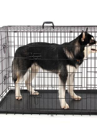 Клетка для собак №5, 91х60х66h см переноска вольер бокс манеж
