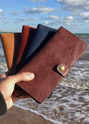 Кожаные кошельки - РУЧНАЯ работа! Натуральная кожа Hand-Made