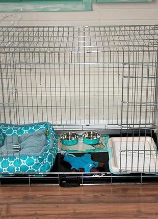Италия CROCI клетка для собак №5, 93х62х69h переноска манеж бокс