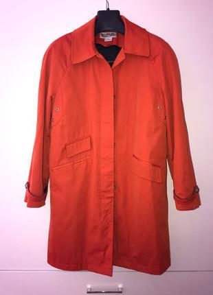 Плащ оранжевый Michael kors размер М