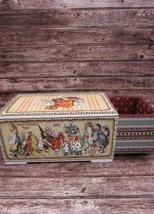 Шкатулка-пенал Алиса в стране чудес