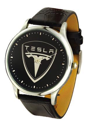 Часы мужские наручные марка автомобиля Тесла, Tesla