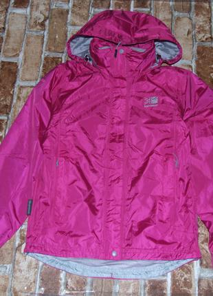 Куртка ветровка девочке 6 р или 14 + лет karrimor