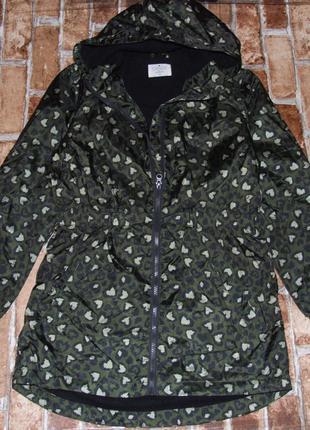 Куртка на флисе парка девочке 14 лет matalan