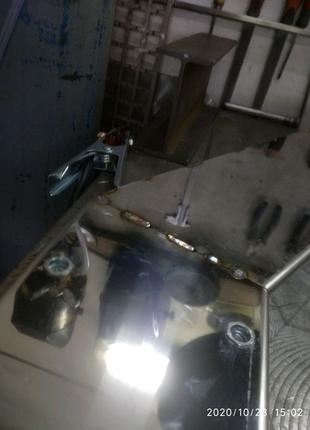 сварка аргоном алюмінію нержавіючої сталіві
