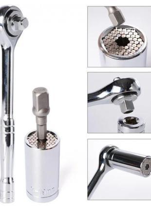 Гаечный ключ Gator Grip универсальный, торцевой ключ
