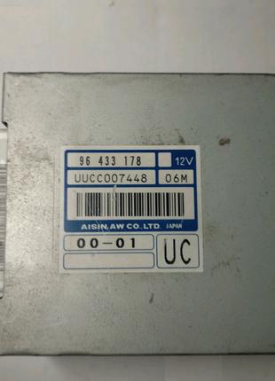 ЭБУ Блок управления мозги коробки АКПП  Шевроле Авео 96433178