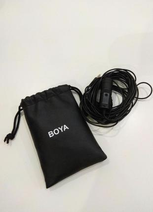 Петличный микрофон Boya by-m1 (нерабочий)