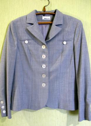 Классический базовый пиджак жакет от frank walder германия раз...