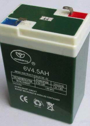 Аккумулятор для весов 6В 4,5Ah