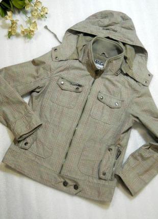 Базовая трендовая куртка ветровка на демисезон весну осень от ...