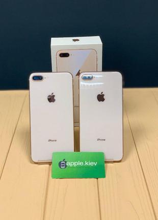 IPhone 8 + Plus 64/256 Gold( Золотой) Магазин Рассрочка Гарант...