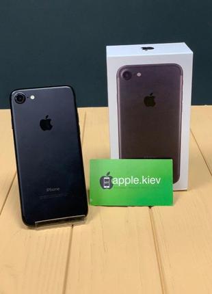 Apple iPhone 7 128 гб Черный (Black) Магазин рассрочка гаранти...