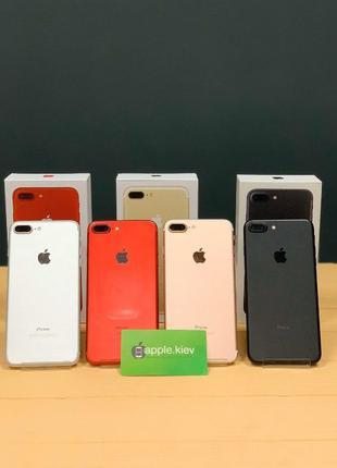 IPhone 7 Plus,32, 128, 256 гб + Гарантия Все цвета Магазин Apple!