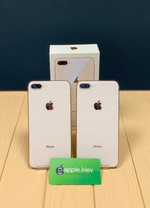 Айфон-iPhone 8 Plus ( 64.256 gb ) Gold (золотой) + Гарантия Ма...