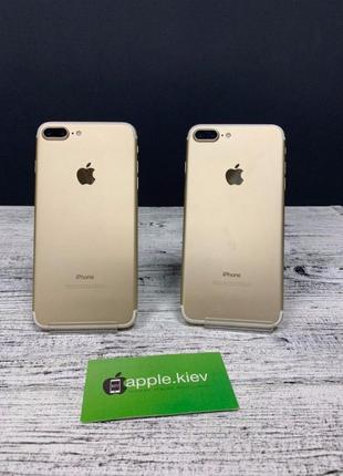 IPhone 7 Plus/ Gold /32 Гб Neverlock с Америки!Гарантия+наложка