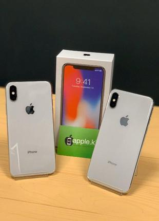 IPhone X 256 Gb Silver! ГАРАНТИЯ 10 256 / 64 MyAppleKiev