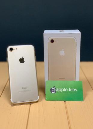 Айфон- iPhone 7 128 гб золотой Gold Магазин Гарантия 3 месяца!
