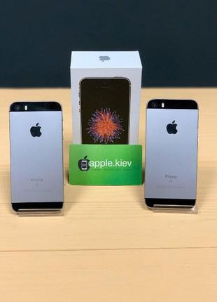 Айфон-iPhone SE 16/32/64 гб Спейс грей(Space Gray) Neverlock Г...