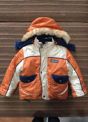 Куртка и штаны полукомбинезон lapland