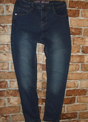 Стрейч джинсы девочке 11 - 12 лет