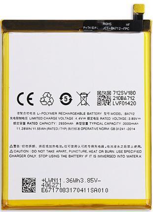 Аккумулятор Батарея АКБ Meizu M6s BA712