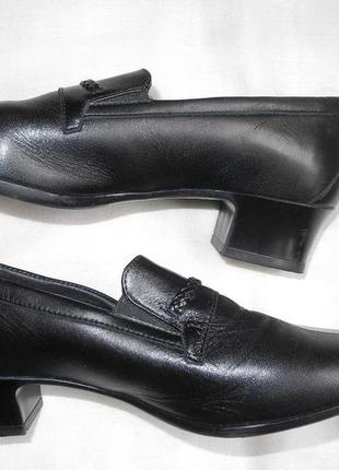 Туфли «finnlady by topman» на низком каблуке  р.39 стелька 26 ...