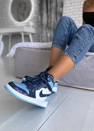 Nike air jordan retro 1 женские кроссовки наложенный платёж ку...