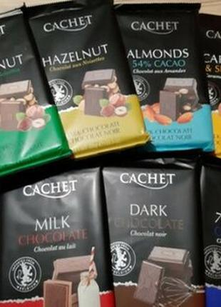 Cachet 300г шоколад Бельгія Кашет ГУРТ