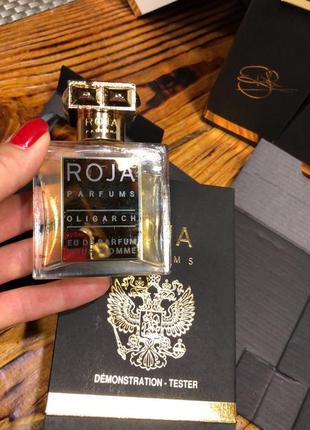 Roja parfums oligarch - парфюмированная вода, тестер, 50 мл