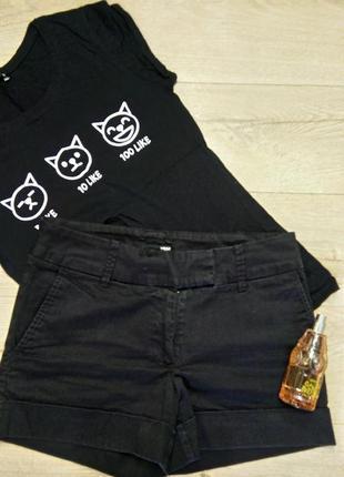 Черные шорты демисезон