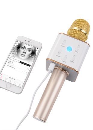 Bluetooth микрофон для караоке Q7
