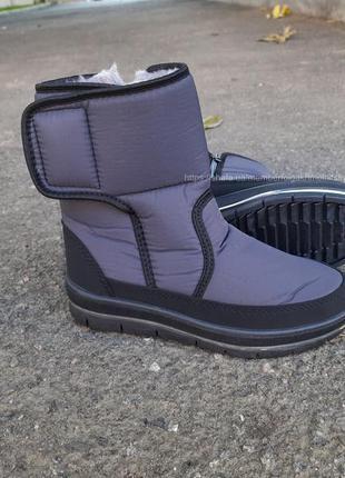 Ботинки на меху зимние дутики женские 37-42