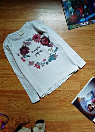 Детский брендовый лонгслив - кофта для девочки zara - возраст ...