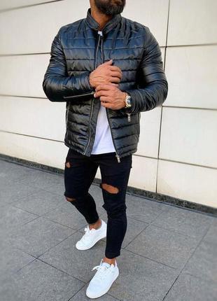 Куртка мужская демисезонная black