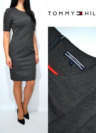 Платье футляр в деловом стиле tommy hilfiger.