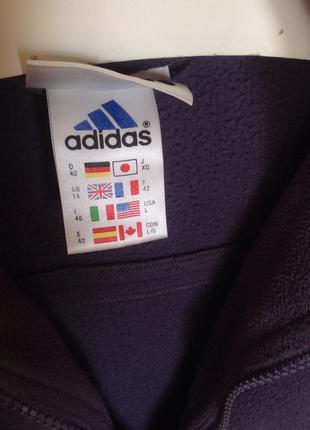 Продам флисовый реглан Adidas