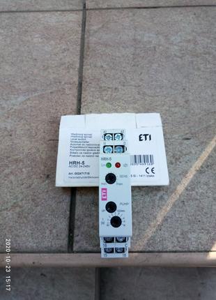 Реле контроля уровня жидкости ETI