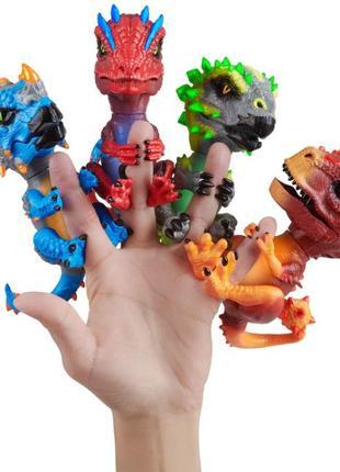 Интерактивная игрушка WowWee Fingerlings динозавр Untamed финг...