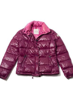 """Moncler purple & pink nylon down """"clairy"""" puffer jacket женски..."""
