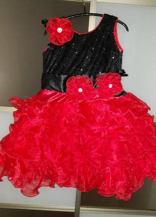 Шикарное платье детское