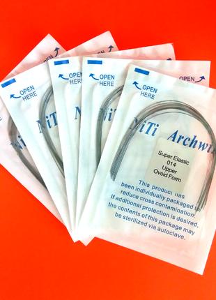 Ортодонтическая суперэластичная дуга Niti Archwire